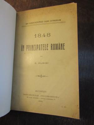 1848 IN PRINCIPATELE ROMANE - S . ALBINI foto