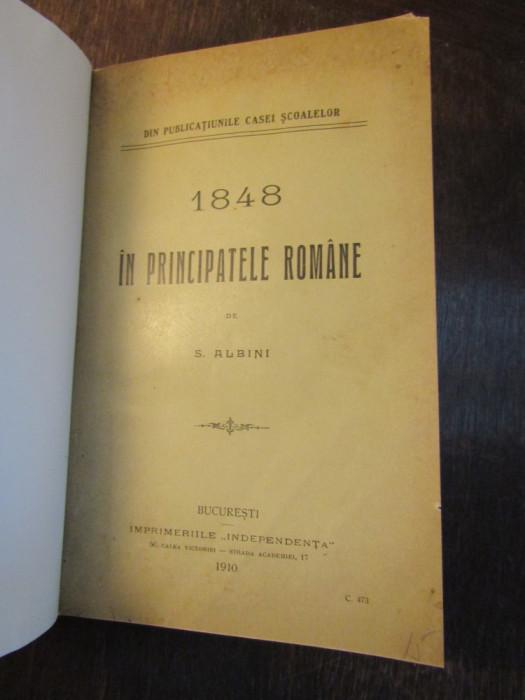 1848 IN PRINCIPATELE ROMANE - S . ALBINI