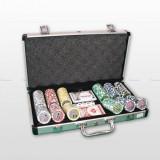 Set jeton poker, 300buc., LASER-A