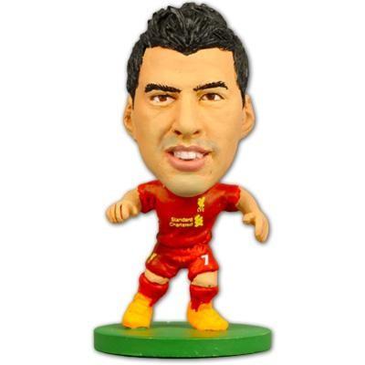 Figurina Soccerstarz Liverpool Luis Suarez foto mare