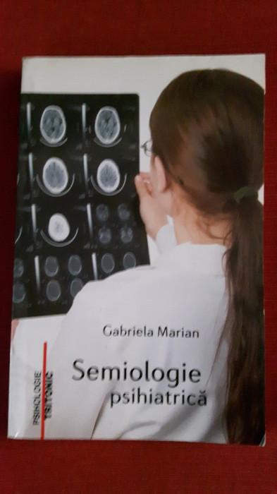 Semiologie psihiatrica - Gabriela Marian foto mare