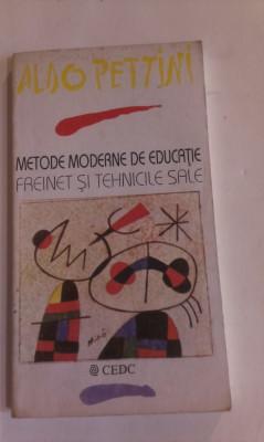 METODE MODERNE DE EDUCATIE - FREINET SI TEHNICILE SALE (PEDAGOGII ALTERNATIVE) foto