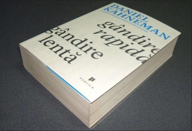 Gandire rapida, gadire lenta  / Daniel Kahneman