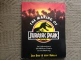 Making of jurassic park Don Shay Jody Duncan Steven Spielberg carte lb. engleza, Alta editura, 1993