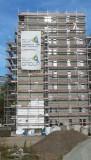 Elevație de schelă 200m2 Producător nou de schelă neutilizat