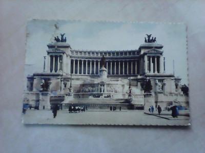 C.P - Roma , Monument Victor Emmanuel II , 1937 foto