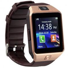 Ceas Smartwatch cu Telefon iUni S30 Plus, BT, Camera 1, 3 Mpx, Auriu