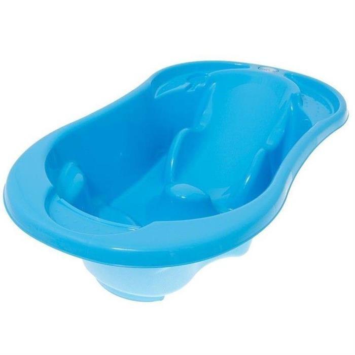 Cadita Anatomica Cu Termometru Komfort - Tega Baby - Albastru foto mare