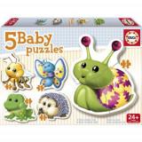 Puzzle Bebe Cu Animale, Educa