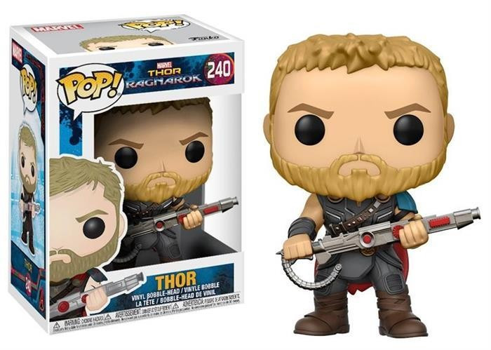 Figurina Pop! Marvel: Thor Ragnarok Thor foto mare