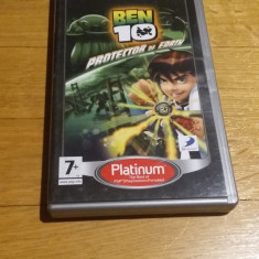 JOC PSP Ben 10 Protector of Earth Platinum ORIGINAL / STOC REAL / by DARK WADDER, Actiune, 3+, Single player