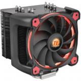Cooler procesor Thermaltake Riing Silent 12 Pro Rosu , 120 mm , Compatibil Intel si AMD