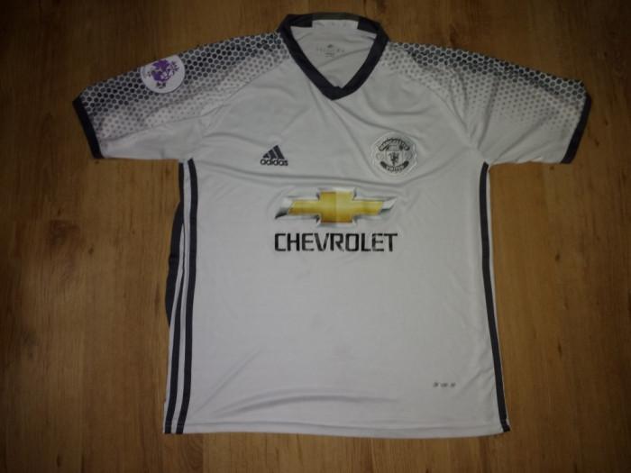 Tricou autentic Manchester United Pogba mărimea M foto mare