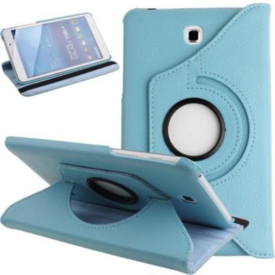 Husa rotativa Samsung Galaxy Tab 4 7.0 7 SM-T230 T230 T231 T235 + stylus foto