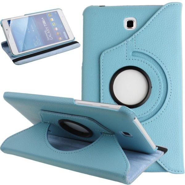 Husa rotativa Samsung Galaxy Tab 4 7.0 7 SM-T230 T230 T231 T235 + stylus foto mare