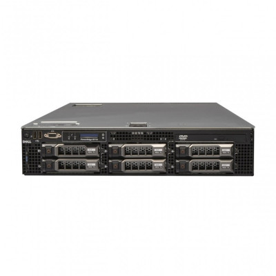 Server Dell PowerEdge R710, 2x Intel Xeon Quad Core E5504, 2.0GHz, 16GB DDR3 ECC, 2x 500GB SATA, Raid Perc 6i, Idrac 6 Express, 2 surse redundante foto