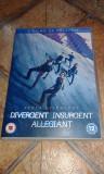 Colectia - Divergent / Insurgent / Allegiant Subtitrat limba romana