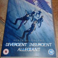 Colectia - Divergent / Insurgent / Allegiant Subtitrat limba romana, DVD