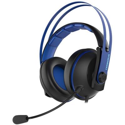 Casti Gaming Asus Cerberus V2 Negru Albastru foto
