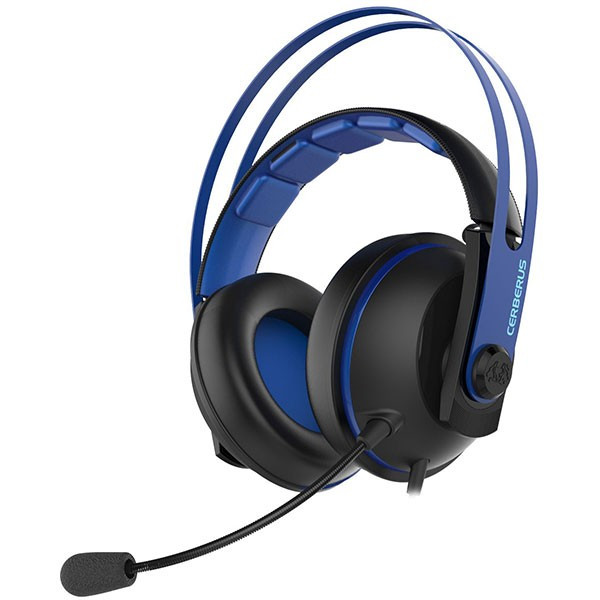 Casti Gaming Asus Cerberus V2 Negru Albastru foto mare