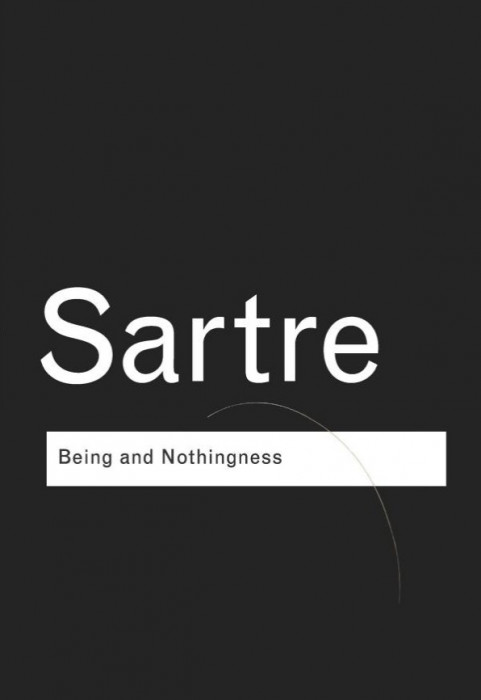 Being and nothingness (Fiinta si neantul trad. engleza) /​ Jean-Paul Sartre foto mare