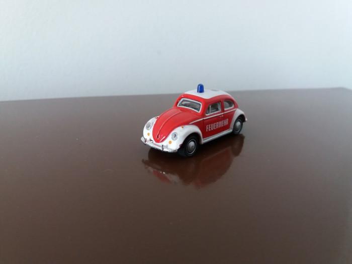 HONGWELL Volkswagen Beetle pompieri, scara 1/72 foto mare
