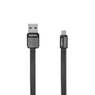 Cablu Remax Platinum MicroUSB RC-044 Negru foto