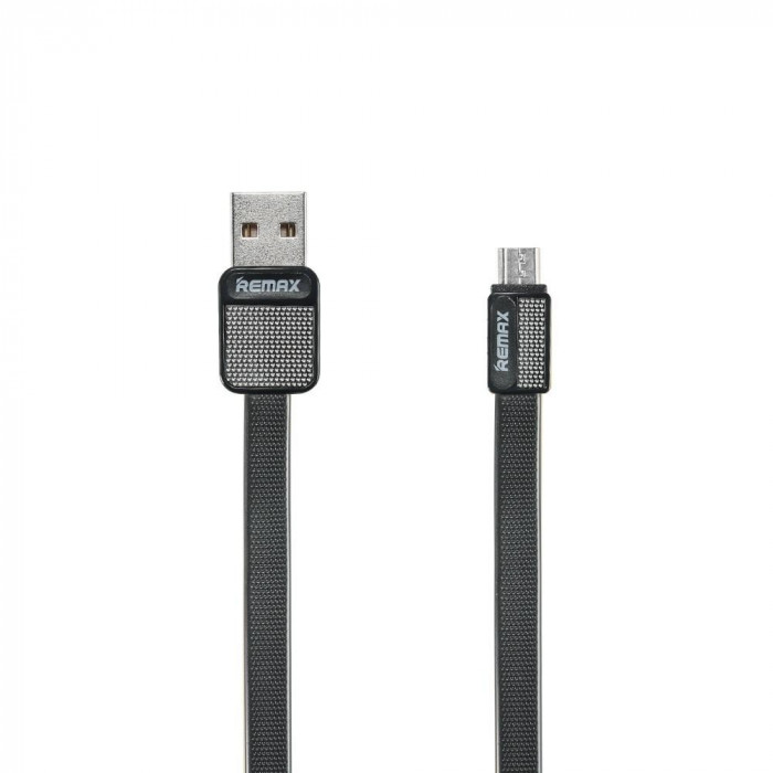 Cablu Remax Platinum MicroUSB RC-044 Negru foto mare