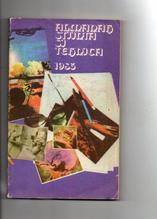 Almanah  Stiinta  si  Tehnica  - 1983 foto mare