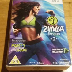 Wii ZUMBA fitness 2 - joc original PAL by WADDER, Shooting, 16+, Multiplayer