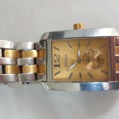 Ceas barbatesc doxa 243.20 bărbați sapphire crystal bratara placata aur 18K