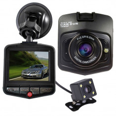 Camera auto Dubla iUni Dash 806, Full HD, 12Mpx, 2.5 Inch, 170 grade, Parking monitor, G senzor, Senzor de miscare - Camera video auto
