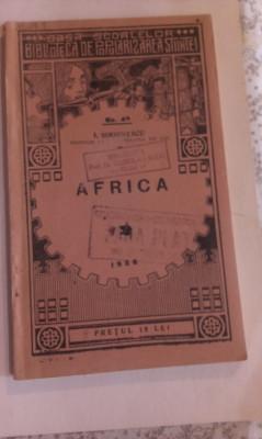 AFRICA - LECTURI GEOGRAFICE foto