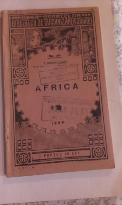 AFRICA - LECTURI GEOGRAFICE foto mare