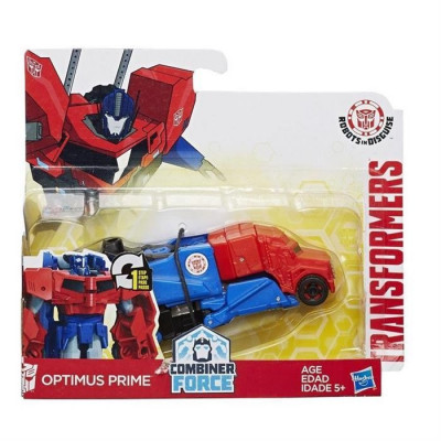 Jucarie Transformers Robots In Disguise Combiner Force Figure Optimus Prime foto