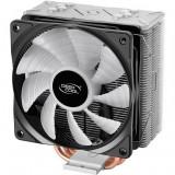 Cooler procesor DeepCool Gammaxx GT , 120 mm , Compatibil Intel si AMD , Iluminare LED RGB