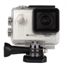 """Camera Video Sport iUni Dare 55i, Full HD, mini HDMI, 1.5"""" LCD, Argintiu + sport Kit - Camera Video Actiune iUni, Card de memorie"""