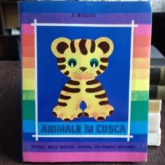 ANIMALE IN CUSCA - S. MARSAK CARTE CU ILUSTRATII 3D