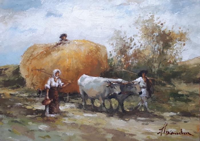 tablou picturå - peisaj foto mare