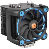 Cooler procesor Thermaltake Riing Silent 12 Pro Blue , 120 mm , Compatibil Intel si AMD