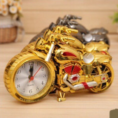 Ceas Motocicleta Gold Ideal Gift - Ceas de perete