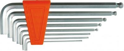 Set 8 chei imbus hexagonale cu bila 1.5-8 mm VOREL foto