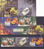 PLANTE MEDICINALE,2015,BLOC + SERIE,neuzata ,MNH ROMANIA, Flora, Nestampilat