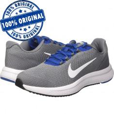 Pantofi sport Nike Runallday pentru barbati - adidasi originali - panza - Adidasi barbati Nike, Marime: 40, 41, 42, 44, 44.5, 45, 45.5, 46, Culoare: Gri, Textil