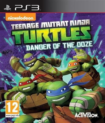 Teenage Mutant Ninja Turtles Danger Of The Ooze Ps3 foto mare