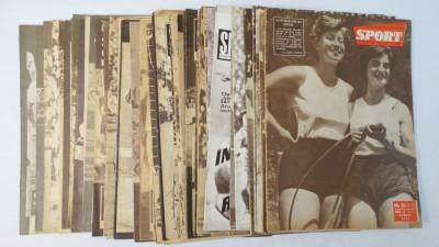 Revista Sport colectie 50 numere 1961 - 1990 foto