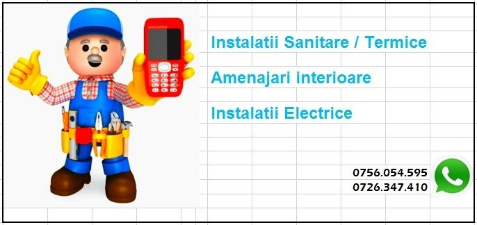 Amenajari / instalatii la un telefon distanta foto mare