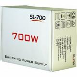 Sursa Inter-Tech SL-700 , 700 W , ATX 2.2 , Dual Rail, 700 Watt