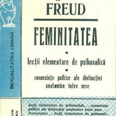 Feminitatea - lectii elementare de psihanaliza - Sigmund Freud - Carte Psihologie
