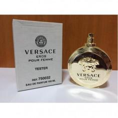 Parfum tester VERSACE EROS POUR FEMME 100ml - Parfum femeie Versace, Apa de parfum, Lemnos oriental